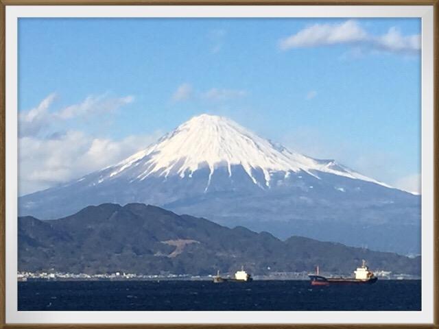 今日の富士山!!